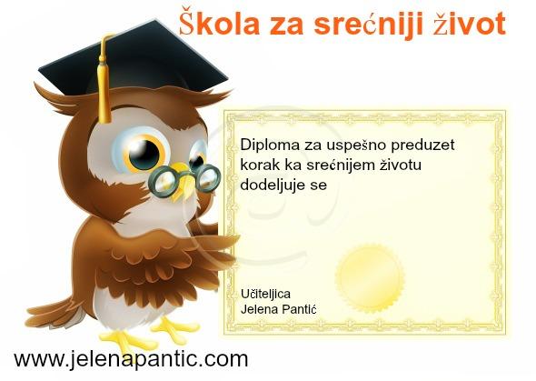 skola za srecu diploma